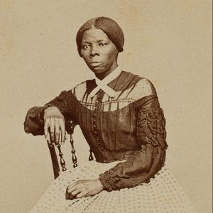 Picture of Harriett Tubman sitting in a chair (c1868-69)